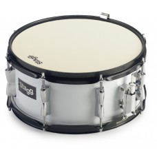 "13""x 6"" Marching Snare-Drum mit Gurt"