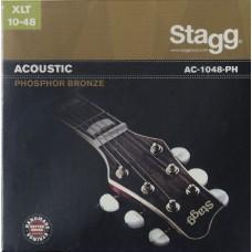 Phosphor Bronze Saitensatz für Akustikgitarre, extra light,  10-48