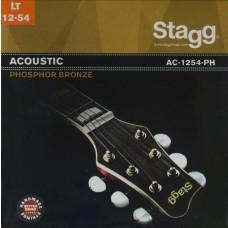 Phosphor Bronze Saitensatz für Akustikgitarre, light 12-54