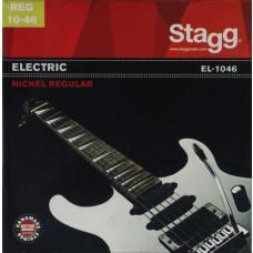 Vernickelter Stahl Saitensatz für E-Gitarre, Regular