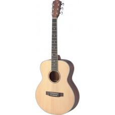 Asyla Serie, Travel-Akustikgitarre m.massiv.Fichtendecke, Auditorium-Modell