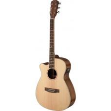 Asyla Serie, E/A Auditorium-Gitarre m. Cutaway u. massiver Fichtendecke