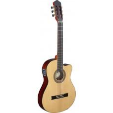 Konzertgitarre thin Model mit Cutaway und Preamp aus der Cereza Serie von Angel Lopez