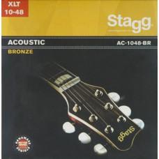 Bronze Saitensatz für Akustikgitarre - extra Light, Stagg