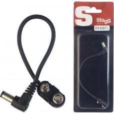 Batterie Adapter, 15cm DC Powerkabel, für 9V Batterie für Effektgeräte