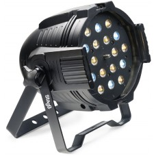 Party LED Spotlight 18 x 3W kalt und Warmweiß LEDs mit Zoom