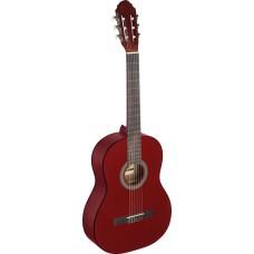 4/4 Klassik-Gitarre rot matt