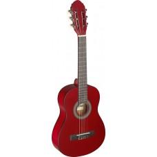 1/4 Konzertgitarre, Linde, rot matt