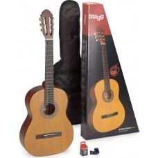 Gitarren Set 4/4 klassische Gitarre inkl. Tasche u. Stimmgerät