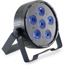 LED Scheinwerfer, Spot, Licht, Spotlight, 6X12W (RGBWAU) LED PAR