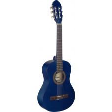 einfache Konzertgitarre 1/2 blau matt