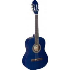 3/4 Klassikgitarre, blau matt