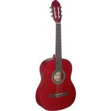 3/4 Gitarre, rot