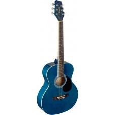 Western Gitarre, Grand Auditorium, blau