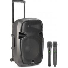 """12"""" aktiv Lautsprecher mit Trolley und 160 Watt"""
