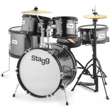 "5PC 16""JR DRSET+HW/THRONE-BK"