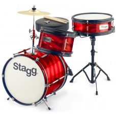 "3PC 12""JR DRSET+HW/THRONE-RED"