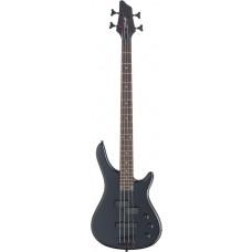 """4-saitige """"Fusion"""" E-Bassgitarre, Stagg, komplett schwarz"""