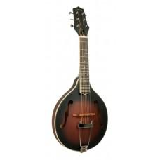 Western Gitarre, Akustik, Sunburst, Linkshänder
