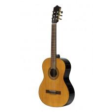 SCL60 klassische Gitarre mit Fichtendecke, Farbe Natur, Linkshändermodell