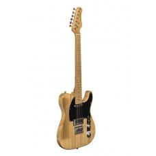VINT SERIE-T PLUS  E-Gitarre NATURL