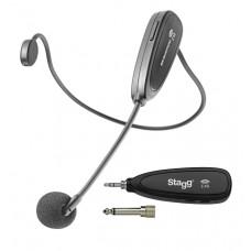 2.4 GHZ Funk-Headset Mikrofon-Set (mit Sender und Empfänger)