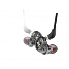 Hochauflösende, schallisolierende Kopfhörer, schwarz