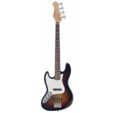 """4-saitige """"Fusion"""" E-Bassgitarre, Stagg"""