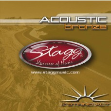 Bronze Saitensatz für 12-saitige Akustikgitarre, Stagg AC-12ST-BR