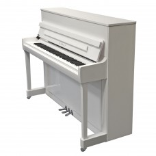 Kawai K-300 ATX3 Klavier weiss silber / Chrom