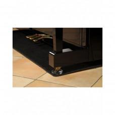 Klavier vor Fußbodenheizung schützen Teppich Matte Unterlage