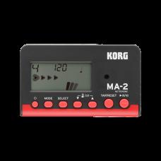 Korg Digital Metronom MA-2 schwarz/rot