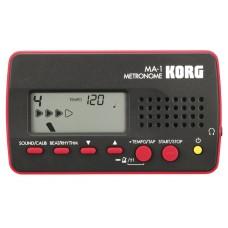 Korg Digital Metronom schwarz/rot