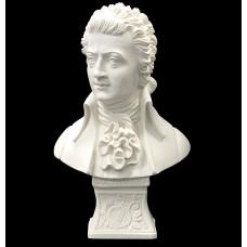 Büste Mozart, Mozart Kopf, Statue