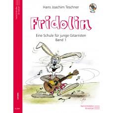 Fridolin, Band 1 mit CD, Gitarre Lehrbuch
