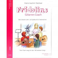 Fridolins Gitarren-Coach, Lehrbuch, Spielband