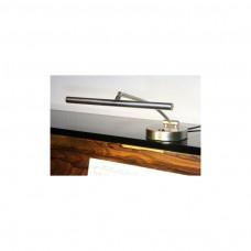 Piano-LED-Leuchte,Nickel gebürstet, zweiflammig, 2x3,5 Watt