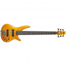 E-Bass Ibanez GVB1006-AM Amber