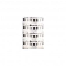Schal Tastatur, weiß