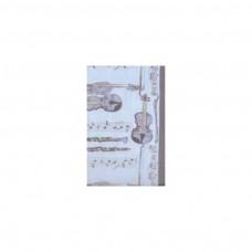 Schal Klarinette/ Violine, blau
