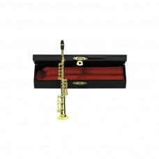 Miniaturinstrument Sopran-Saxophone