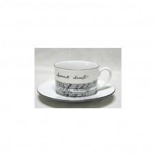Cappuccino-Tasse 2-teilig