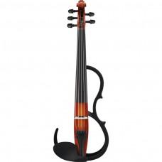 e-Geige Yamaha SV-255 Silent Violin BR braun 4/4 5-saitig