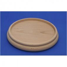 Holz Untersetzer für Klavier oder Flügel roh, Durchmesser 160 mm