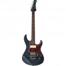 Yamaha E-Gitarre PA611 HFM TBL Translucent Black