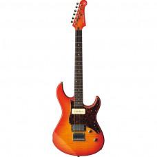 Yamaha E-Gitarre PA611 HFM LAB Light Amber Burst
