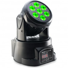 Head Banger LED Moving Head mit 7 x 10W 4 in 1 LEDs