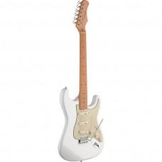 E-Gitarre mit massivem Erlenkorpus