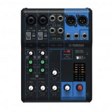 Yamaha Mixer MG06, 6 Känale