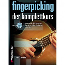 Gitarre der Komplettkurs inkl. CD, von Phil Capone